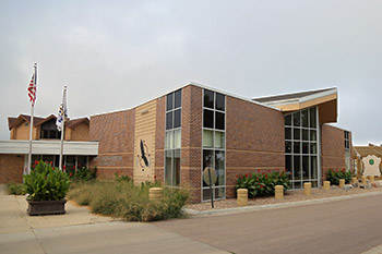 The Akta Lakota Museum & Cultural Center features beautiful Native American art and collectibles.