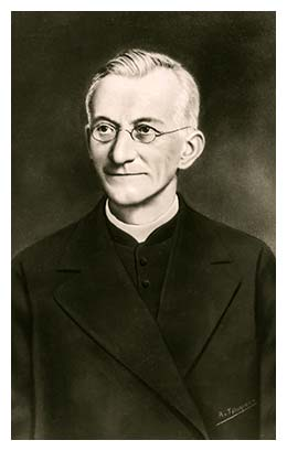 Image of Fr. Leo John Dehon, founder of the Priest of the Sacred Heart.