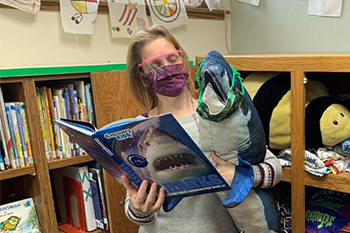 There's a Talking Shark in the Library!
