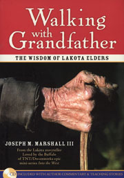 Native American books - Walking with Grandfather, by Joseph M. Marshall