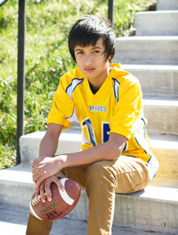 Meet Our 2016 8th Grader - Dominick.