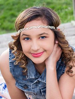 Meet Our 2016 8th Grader - Justina.