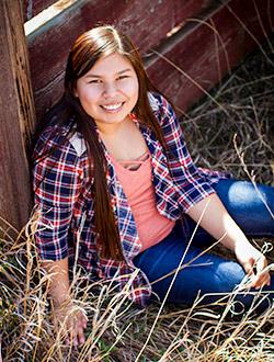 Meet Our 2017 8th Grader - Carolina.