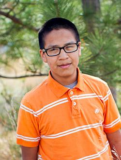 Meet Our 2017 8th Grader - Leonard.